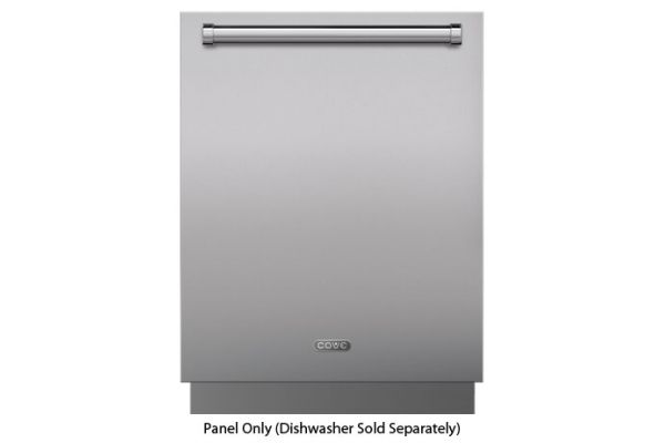 Cove 60cm Stainless Steel Dishwasher Panel With Pro Handle - 9009548