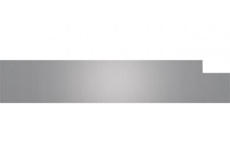 "Cove 6"" Stainless Steel Dishwasher Kickplate - 9018925"