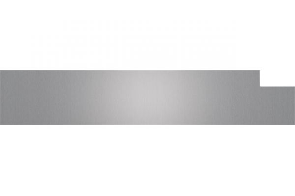 """Large image of Cove 60cm Stainless Steel Dishwasher 6"""" Kickplate - 9009552"""