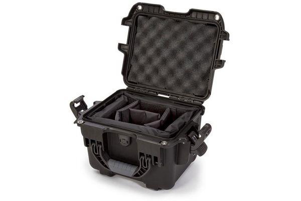 Nanuk 908 Black Hard Case With Padded Dividers - 908-2001