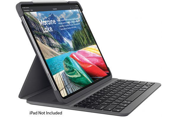 "Logitech Black Slim Folio Pro Keyboard For iPad Pro 11"" - 920-009154"