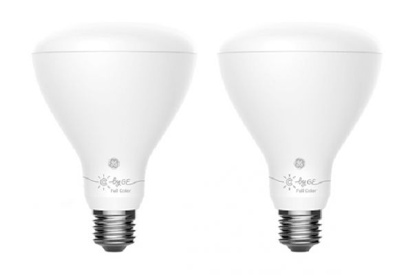 C By GE BR30 2-Pack Bluetooth Color Changing Smart LED Bulb - 93106175