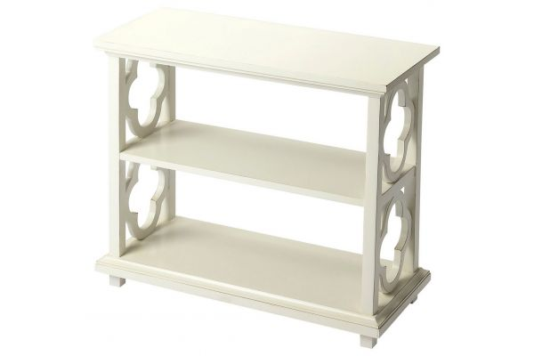 Large image of Butler Specialty Company Paloma Cottage White Bookcase - 9331222