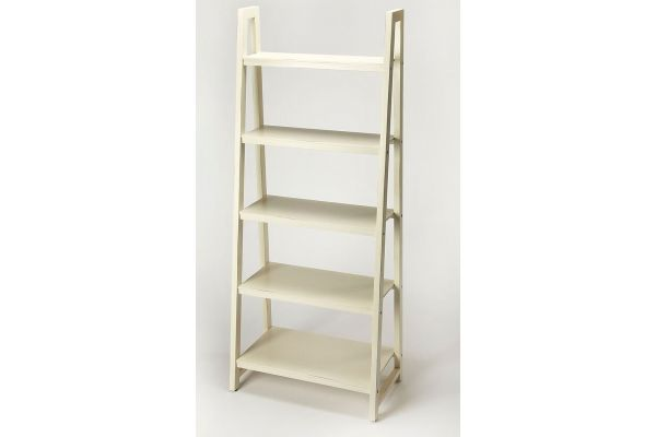 Large image of Butler Specialty Company Stallings White Bookcase - 9342288