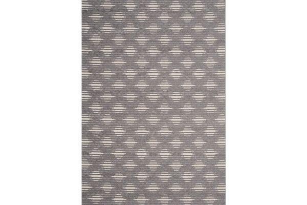 "Large image of Kalora Vista 7'10"" X 10'10"" Grey Cream Trellis Indoor/Outdoor Rug - 9395/H818 240330"
