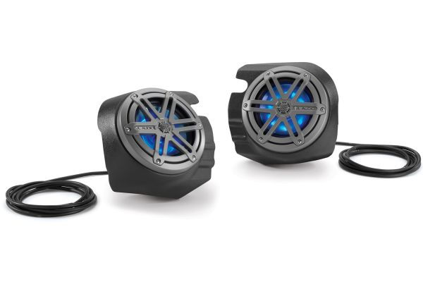 JL Audio Stealthbox For 2014-2018 Polaris RZR 4 900, 900XC, XP 1000 & XP4 1000 - SB-POL-RZG2SPKR/MX650