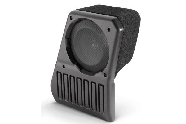 Large image of JL Audio Stealthbox For 2018-Up Jeep Wrangler Unlimited (Passenger Side) - SB-J-JL4DPAS/10TW1-2