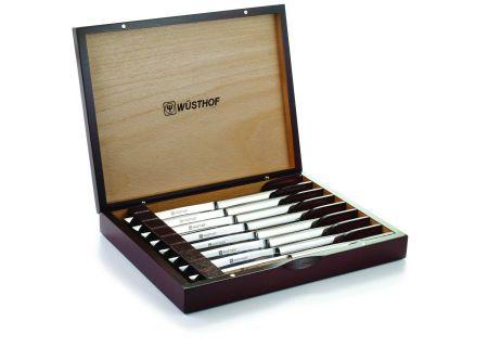 Wusthof 8-Piece Steak Knife Set with Wooden Box - 9468