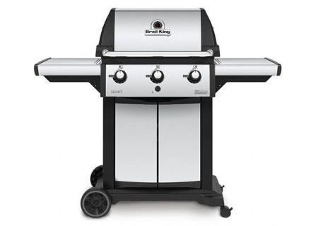 Broil King Signet 320 Stainless Steel Liquid Propane Gas Grill - 946854