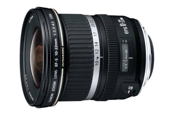 Large image of Canon EF-S 10-22MM USM Ultra-Wide Zoom Lens - 9518A002