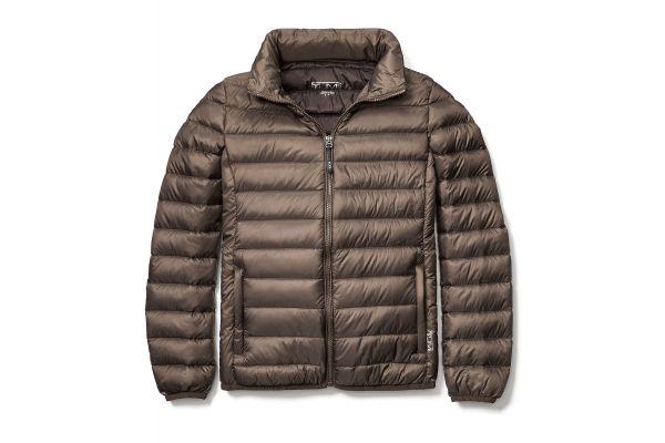 Tumi Medium Clairmont Packable Travel Mink Womens Puffer Jacket - 95623T315