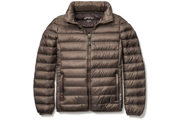 Tumi X-Large TUMIPAX Outerwear Mink Clairmont Packable Travel Puffer Womens Jacket - 95625-T315