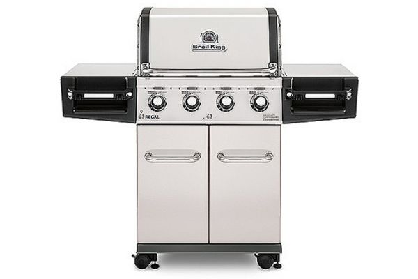 Broil King Regal S420 Pro Stainless Steel Liquid Propane Gas Grill - 956314