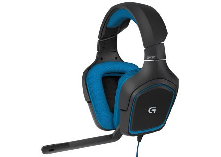 Logitech G430 Black Surround Sound Gaming Headset - 981-000536