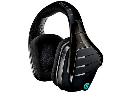 Logitech G933 Black Artemis Spectrum Wireless 7.1 Surround Gaming Headset - 981-000585