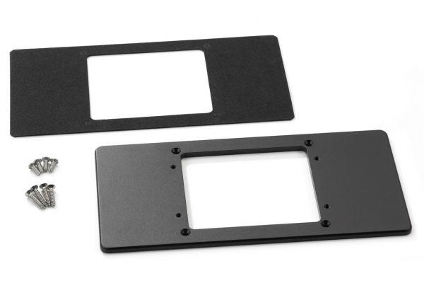 "Large image of JL Audio 8.67"" X 4.22"" Mounting Adaptor Plate For MediaMaster MM50 & MMR-40 - MMP-2-BK"