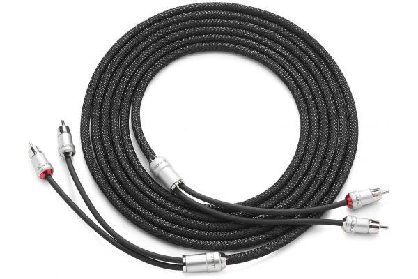 Large image of JL Audio 12 Feet 2-Channel Premium Audio Interconnect Cable - XE-BLKAIC2-12
