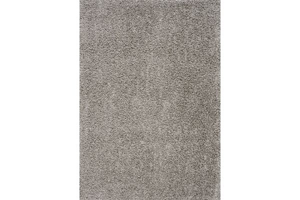 "Large image of Kalora Plateau 7'10"" X 10'6"" Light Grey Soft Shag Rug - 9998/9252 240320"