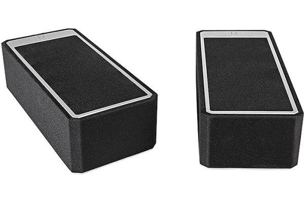 Large image of Definitive Technology High-Performance Black Height Speaker Modules (Pair) - AUMO-A