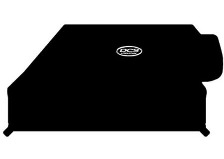 """DCS 48"""" Built-In Black Grill Cover With Side Burner - ACBI-48SB"""