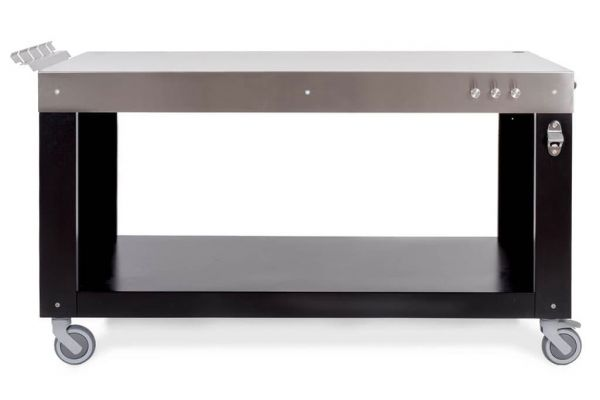 "Alfa 39"" Stainless Steel Multi-Functional Base - ACTAVO100"