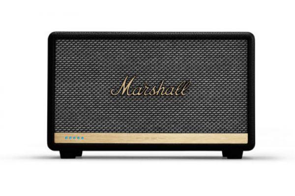 Large image of Marshall Acton II Voice Black Speaker With Amazon Alexa - 1002493
