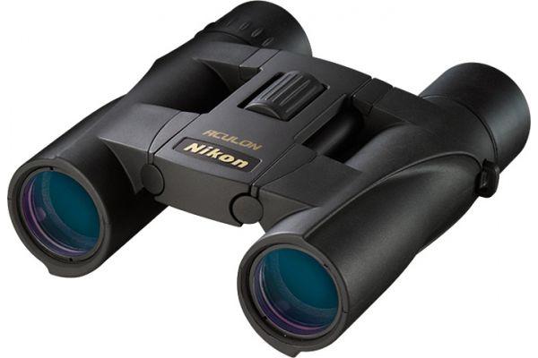 Large image of Nikon ACULON A30 10x25 Black Binoculars - 8263