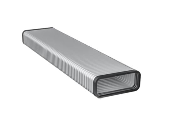 Large image of Gaggenau Flat Duct Flex Pipe DN 150 Flat Metal - AD858010