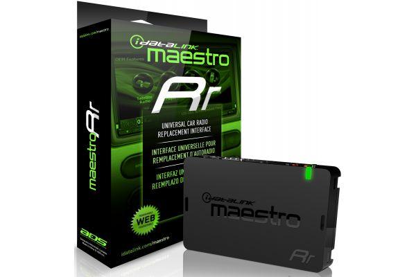 iDat-aLink Maestro RR Universal Radio Replacement and Steering Wheel Interface - ADS-MRR