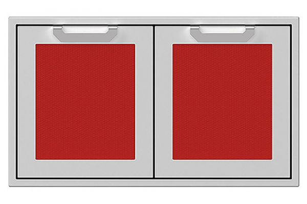 "Large image of Hestan 36"" Matador Outdoor Double Access Doors - AGAD36-RD"