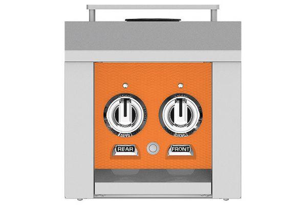 "Large image of Hestan 12"" Citra Natural Gas Double Side Burner - AGB122-NG-OR"