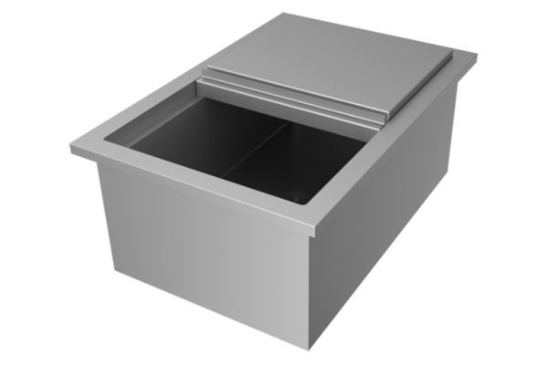 "Large image of Hestan 16"" AGIB Series Outdoor Ice Bin - AGIB"