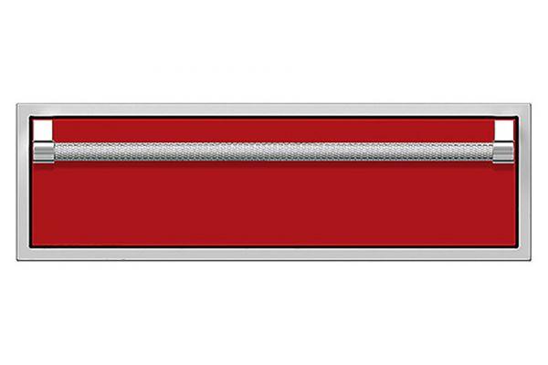 "Large image of Hestan 36"" Matador Outdoor Single Storage Drawer - AGSR36-RD"