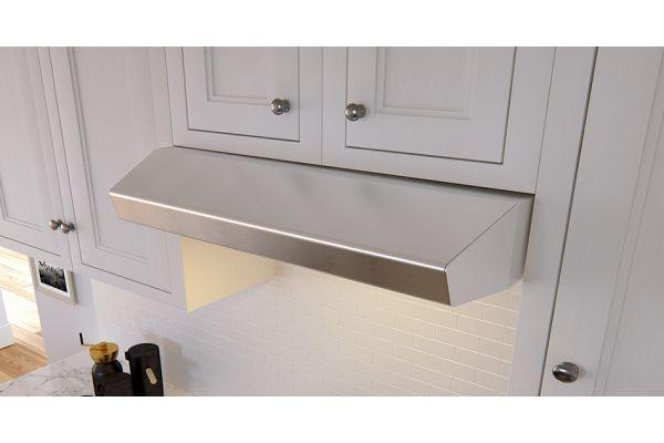 "Large image of Zephyr 30"" Breeze II Stainless Steel Under Cabinet Hood - AK1200BS"