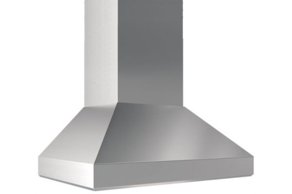 "Large image of Zephyr Titan 42"" Stainless Steel Wall Hood - AK7642AS"