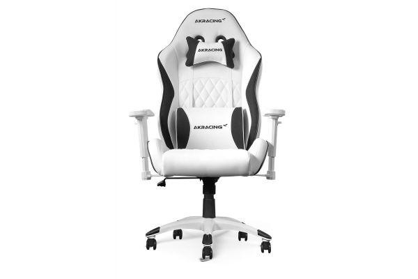 Large image of AKRacing California Laguna White Gaming Chair - AK-CALIFORNIA-LAGUNA