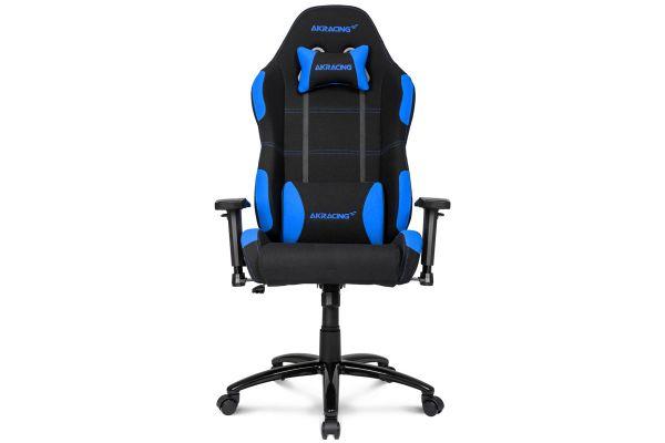 Large image of AKRacing Core Series Black & Blue EX Gaming Chair - AK-EX-BK/BL