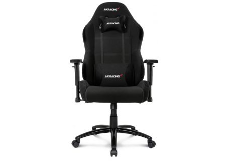 AKRacing Core Series Black EX-Wide Gaming Chair - AK-EXWIDE-BK