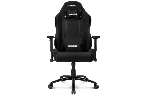 Large image of AKRacing Core Series Black EX-Wide Gaming Chair - AK-EXWIDE-BK