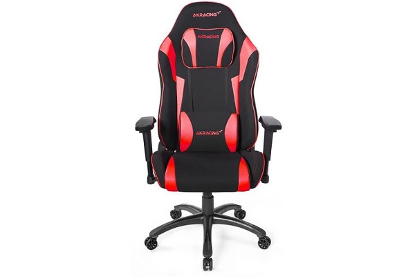 Large image of AKRacing Core Series Ex-Wide Black & Red Gaming Chair - AK-EXWIDE-SE-RD