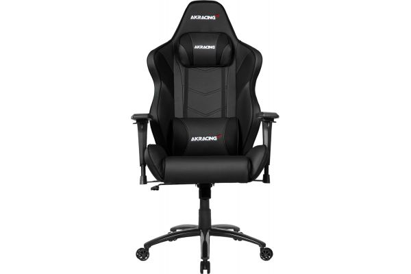 Large image of AKRacing Core Series Black LX Plus Gaming Chair - AK-LXPLUS-BK
