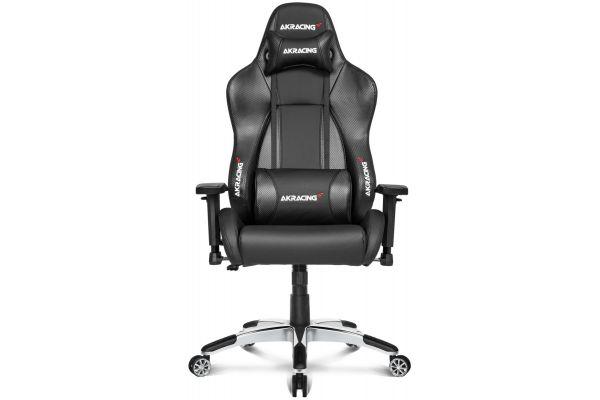 Large image of AKRacing Master Series Carbon Black Premium Gaming Chair - AK-PREMIUM-CB