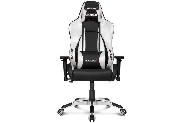 Large image of AKRacing Master Series Silver Premium Gaming Chair - AK-PREMIUM-SV