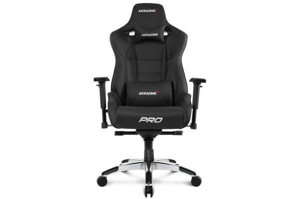 Large image of AKRacing Master Series Black Pro Gaming Chair - AK-PRO-BK