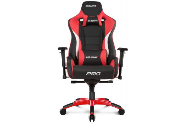 Large image of AKRacing Master Series Red Pro Gaming Chair - AK-PRO-RD