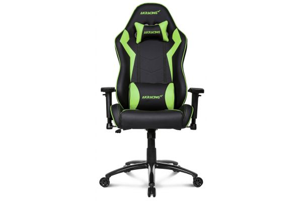 Large image of AKRacing Core Series Green SX Gaming Chair - AK-SX-GN