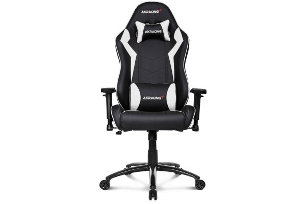 Large image of AKRacing Core Series White SX Gaming Chair - AK-SX-WT