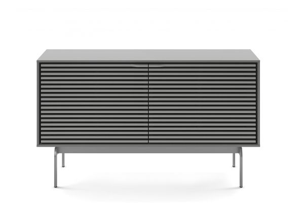Large image of BDI Align Fog Grey Double Console Cabinet - 7478 CO-FOG