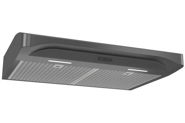 "Large image of Broan Elite Alta 2 Series 30"" Black Stainless Steel Convertible Under-Cabinet Range Hood - ALT230BLS"