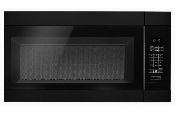 Large image of Amana Black Over-The-Range Microwave Oven - AMV2307PFB